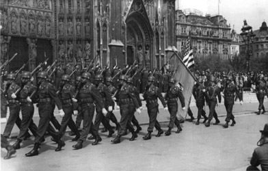 Liberation Parade of the Allies in Vienna (© Bildarchiv Austria)